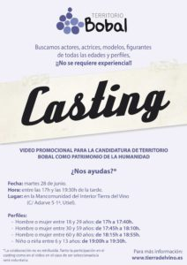 Buscamos actores, actrices, modelos, figurantes…