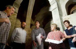 Utiel pide ayuda a la Diputación para Rehabilitar las Bodegas del subsuelo