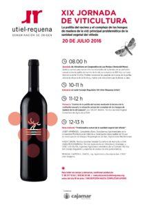 Jornada de Viticultura de la DO Utiel-Requnea_20 Julio-2016