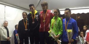 Plata del Utielano Víctor Ruiz en el Campeonato de España de milla en ruta