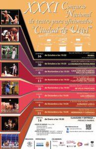 XXXI Concurso Nacional  de Teatro para aficionados Ciudad de Utiel