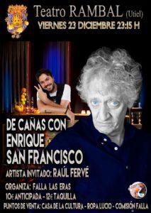 Enrique San Francisco en el Teatro Rambal