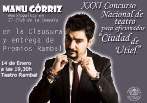 Entrega de Premios de XXXI Concurso de Teatro Ciudad de Utiel