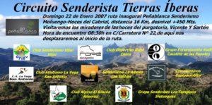 El Día 22 Comienza el Circuito Senderista Tierras Íberas 2017