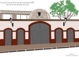 El Ayuntamiento de Utiel y la Diputación estudian la rehabilitación de la Plaza de Toros