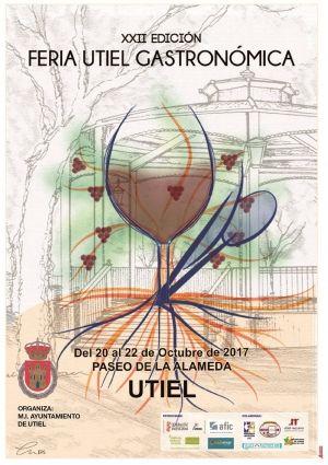 Programa Actos Feria Utiel Gastronómica