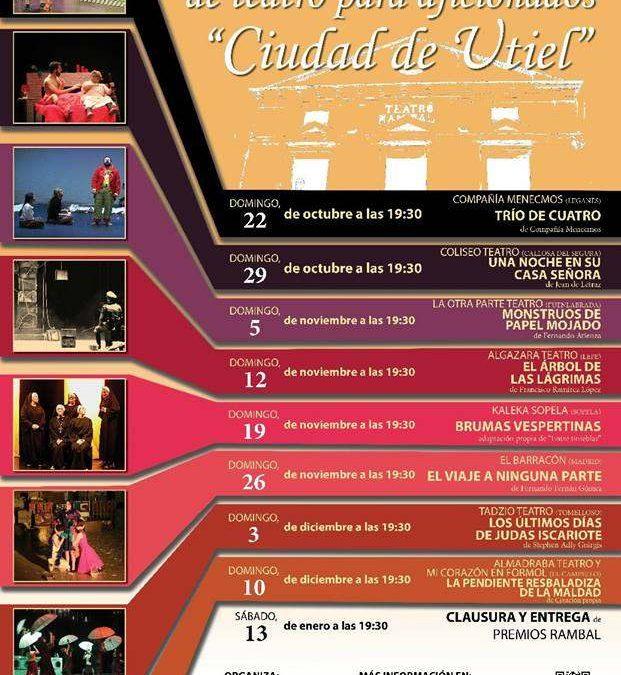 XXXII Concurso Nacional de Teatro Ciudad de Utiel
