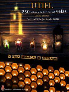Elegido cartel de 250 años  a la luz de las velas 2018