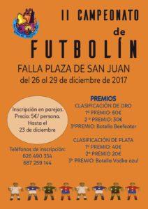 II Campeonato de Futbolín 2017