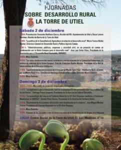 I Jornadas de desarrollo rural- La Torre de Utiel