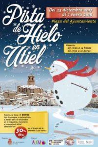 El Ayuntamiento de Utiel instalará una pista de hielo por Navidad.
