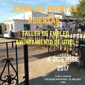 Jornada de puertas abiertas en taller empleo