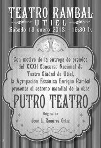 Estreno Mundial de Putro Teatro en el Teatro Rambal