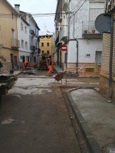 Utiel inicia las obras de mejora en las calles del municipio y aldeas