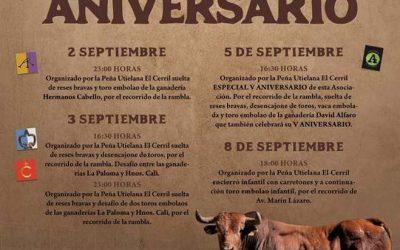 Programa Festejos para Feria 2018 de El Cerril