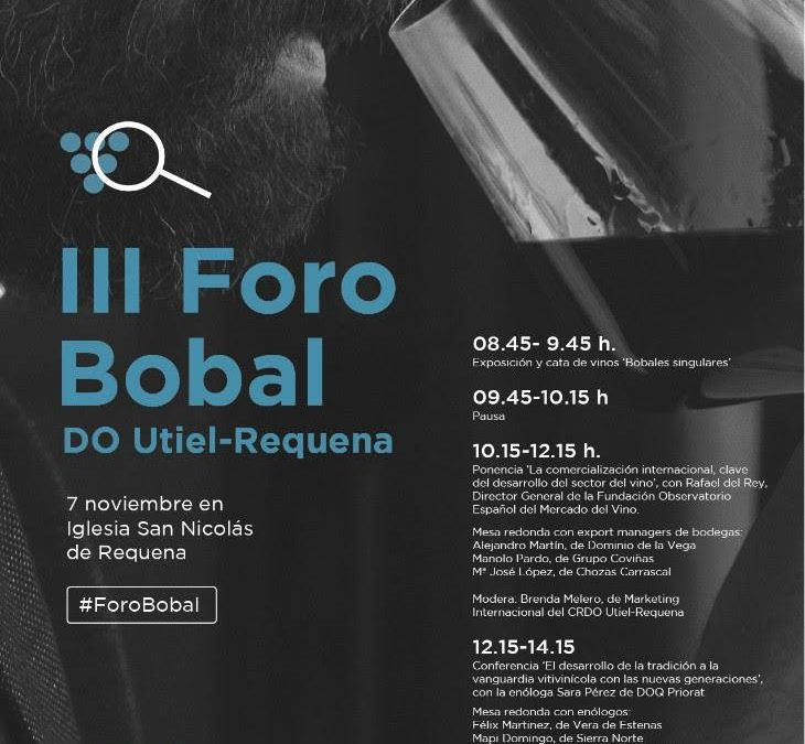 El III Foro DO Utiel-Requena se celebra el 7 de noviembre