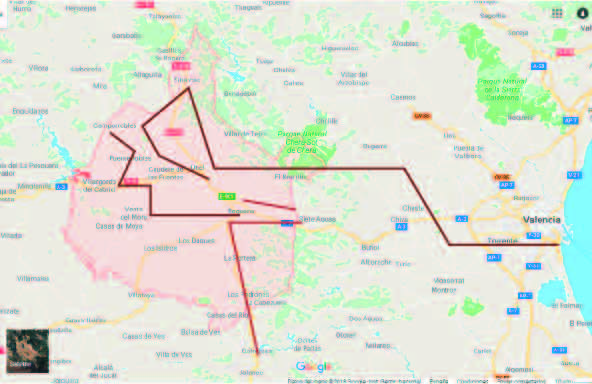 Nuestra comarca albergará uno de los 18 nodos logísticos según el plan elaborado por la Generalitat hasta 2038