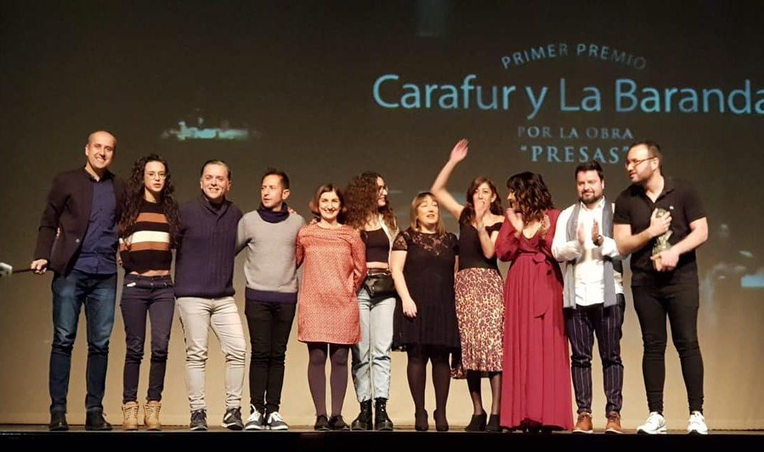 """La Obra """"Presas"""" Arrasa En El Concurso Nacional de Teatro Para Aficionados Ciudad De Utiel."""