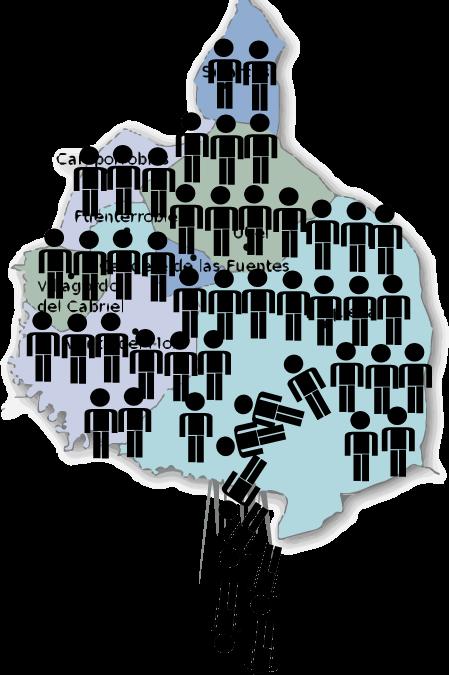 Todos los municipios de la Plana Utiel-Requena pierden población durante el 2018