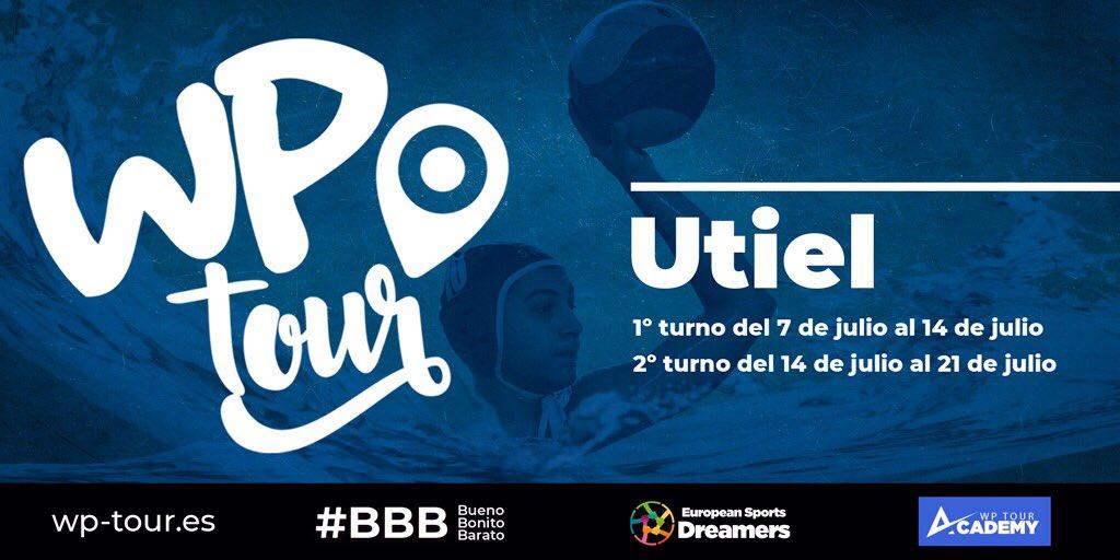 Utiel, sede nacional de los Academy Tours de Waterpolo y Voleibol