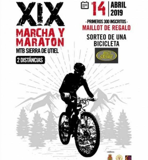 El Club Ciclista Utiel Organiza la XIX marcha MTB