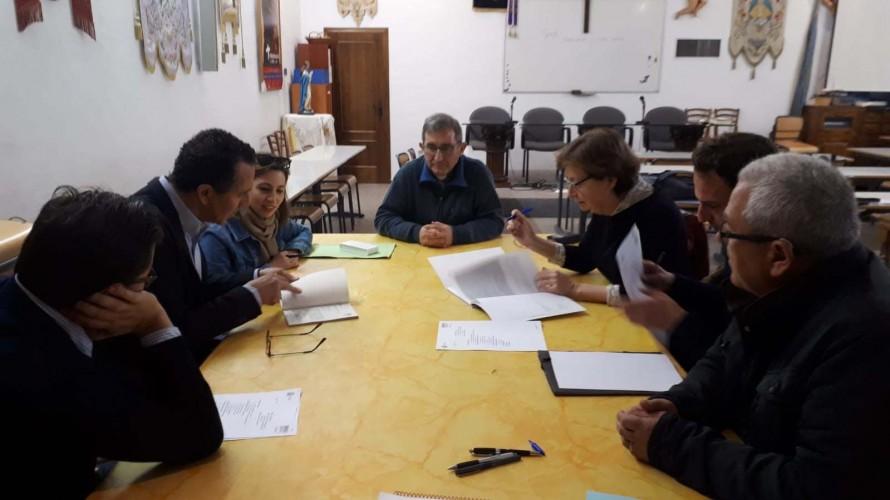 Hoy se ha firmado en Utiel el replanteo para la segunda fase de la iglesia de Nuestra Señora de la Asunción