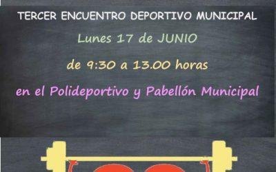 El III Encuentro Deportivo Municipal reunirá a más de 300 alumnos de Utiel
