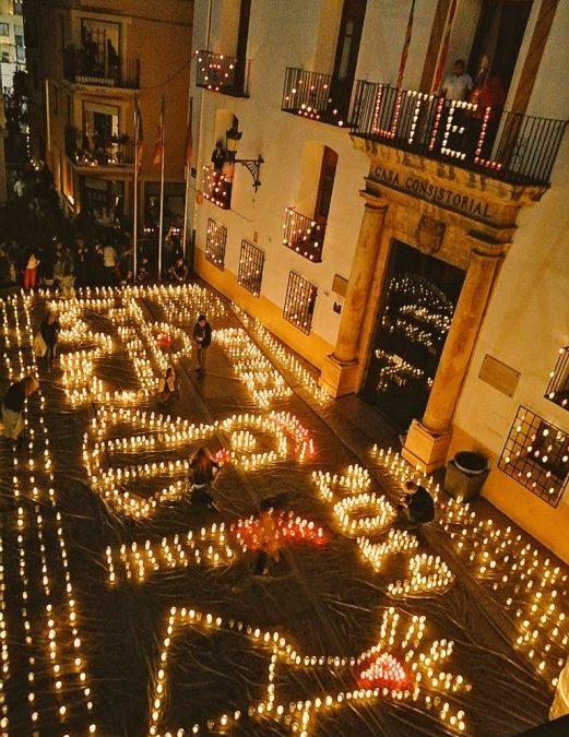 """""""Utiel, 250 años a la luz de las velas"""" recibe miles de visitantes en su quinta edición"""