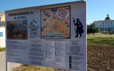 Utiel señaliza el recorrido del Camino de Santiago