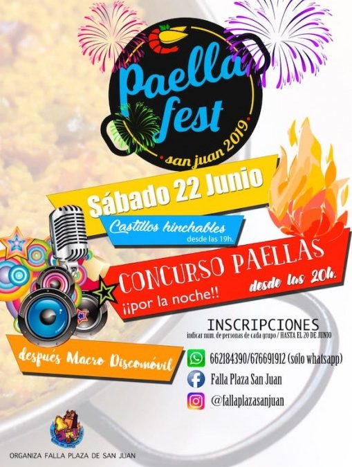 Programa de Festejos de San Juan 2019 en Utiel