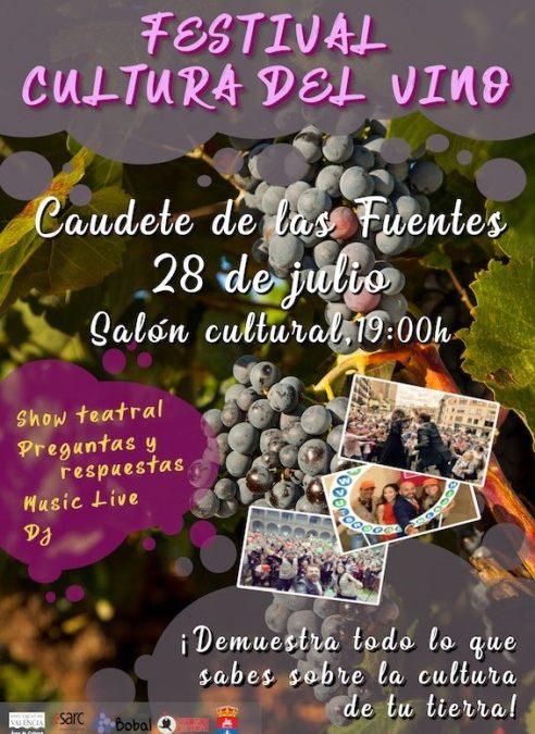 El festival de la cultura del vino llega a la comarca