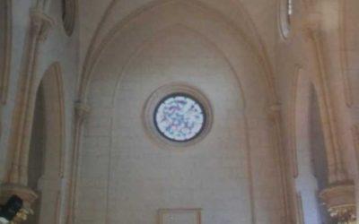 La Conselleria de Educacion, Cultura y Deportes subvenciona con 36.750 euros las obras en la capilla de la comunión de la iglesia parroquial de Utiel.