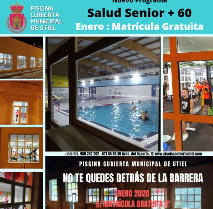 La Piscina Cubierta de Utiel lanza el programa Salud Senior +60