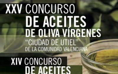 """Concursos de Aceites de Oliva Vírgenes """"Ciudad de Utiel"""" 2020"""