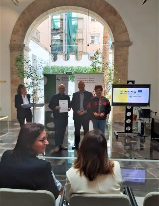 Utiel recibe el reconocimiento de eficiencia energética del proyecto europeo SHERPA