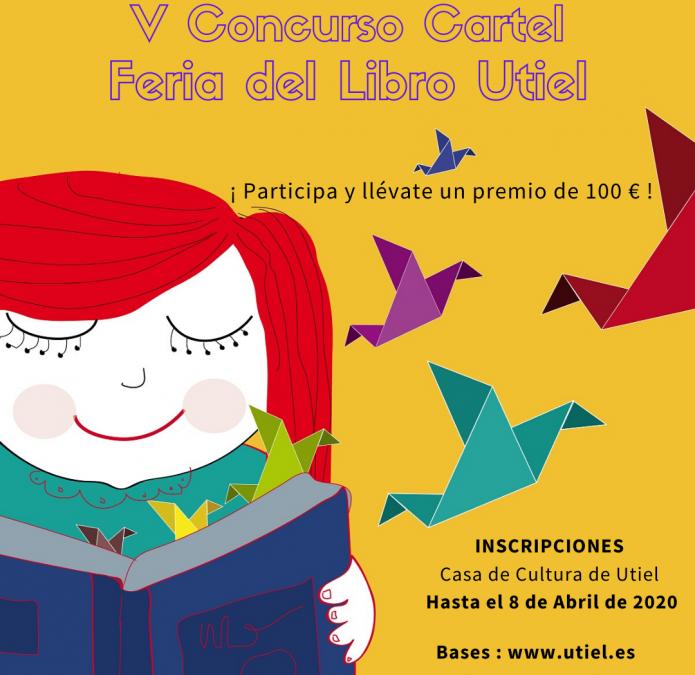 El Ayuntamiento de Utiel convoca el V Concurso de Cartel Anunciador de la Feria del Libro de Utiel