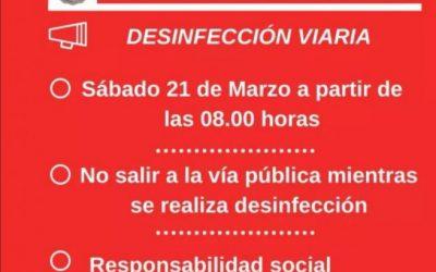 Desinfección Viaria