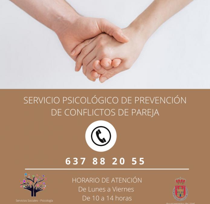 Utiel ofrece un servicio psicológico de prevención de conflictos de pareja durante el confinamiento