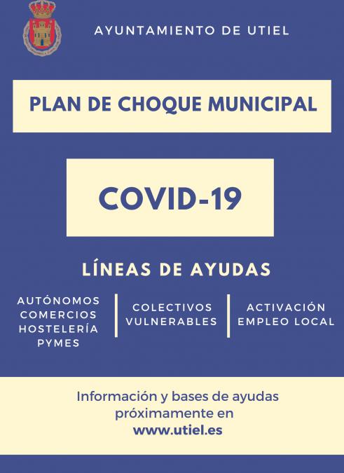 El Ayuntamiento de Utiel prepara un plan de choque contra el impacto del COVID-19