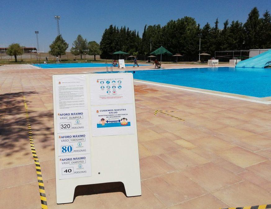 Comienza la temporada de baño en el Polideportivo de Utiel