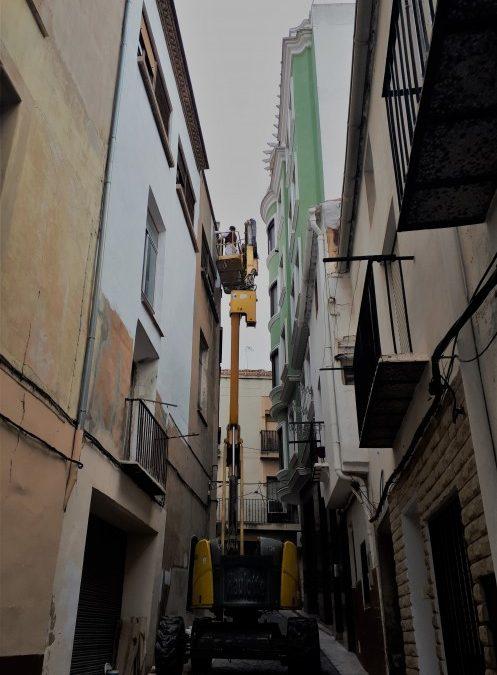 Se amplía el plazo de las ayudas a rehabilitación de fachadas en el casco histórico de Utiel