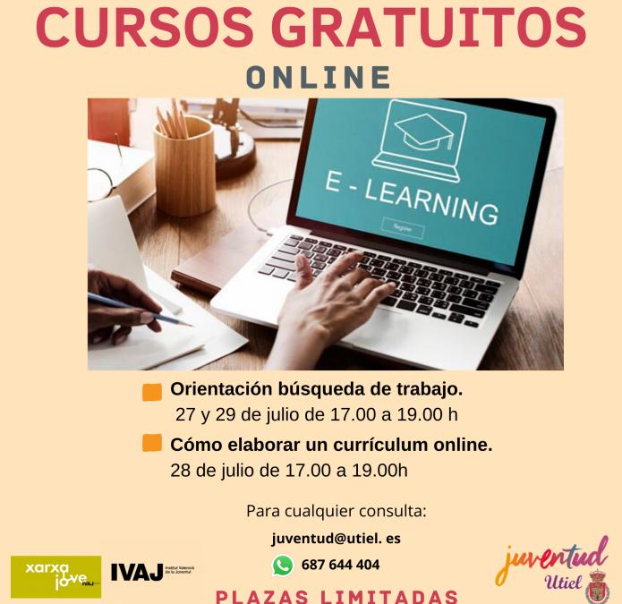 Juventud Utiel lanza dos cursos gratuitos sobre técnicas de búsqueda de empleo
