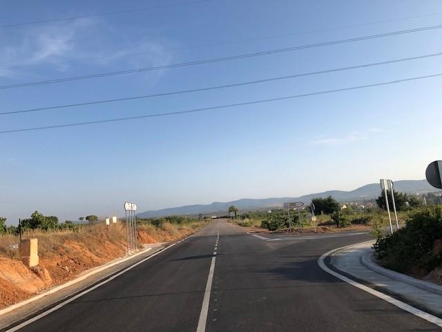 La Diputación mejora la seguridad en la Carretera de la Vega de Requena