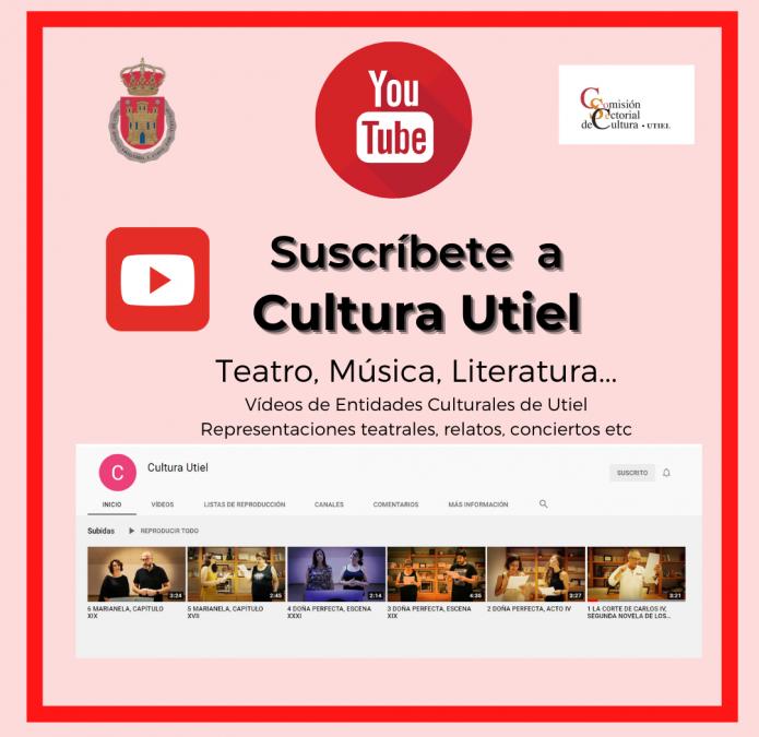 Utiel abre nuevo canal en YouTube para difundir actividades culturales del municipio