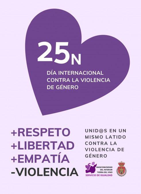 Arranca en Utiel el programa de actos del Día Internacional contra la Violencia de Género