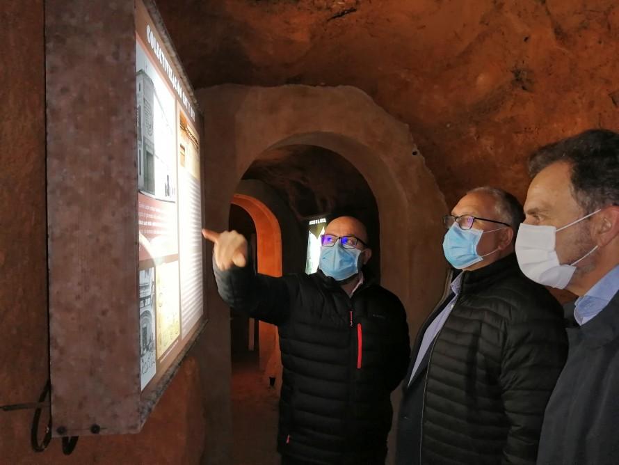Los Directores de Administración Local y Presidencia visitan el patrimonio rehabilitado con fondos FEDER en Utiel