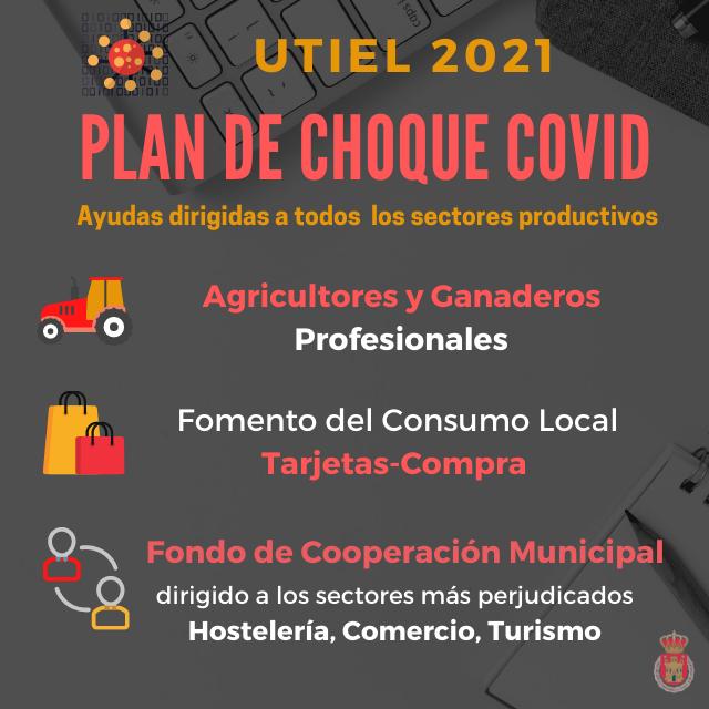 Utiel ultima un plan integral de ayudas COVID para apoyar a todos los sectores productivos del municipio