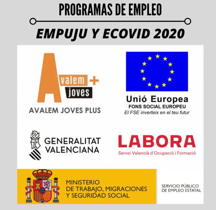 Utiel contrata a 5 personas a través de los programas EMPUJU y ECOVID 2020