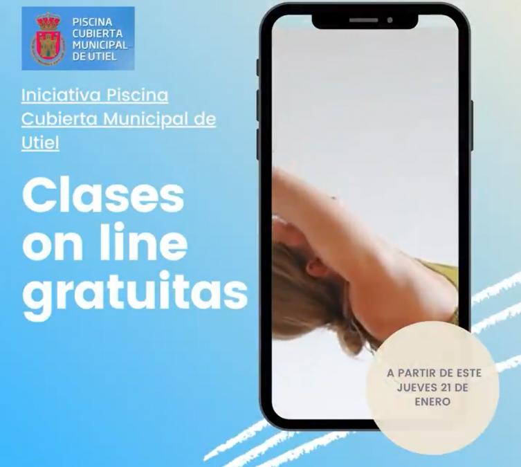 La Piscina Cubierta de Utiel lanza clases dirigidas online en directo