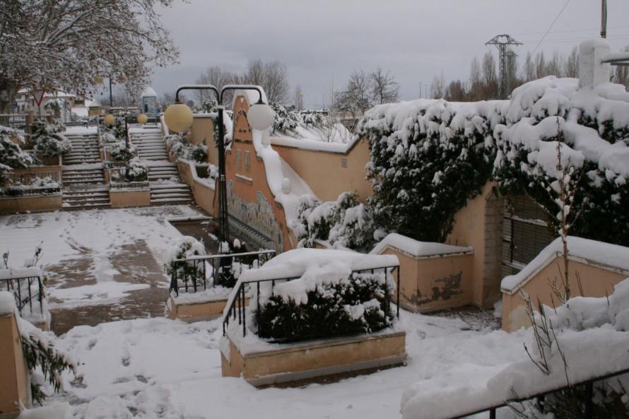 Requena-Utiel ha registrado en enero una pluviometría superior a la normal, en un 40%, por la nevada